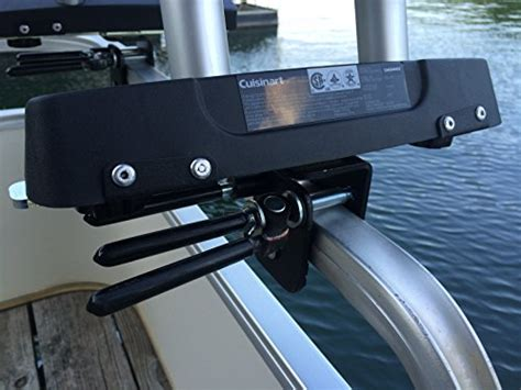 cuisinart boat grill cuisinart grill modified for pontoon boat with arnall s