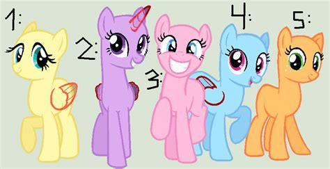 mlp pony base group mlp group base ms paint google search mlp bases