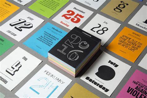 design milk calendar 22 modern calendars for 2016 design milk