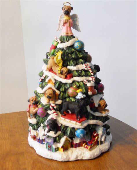 pug christmas tree pug ceramic tree a ƥʋɢɢʏ cняιƨтмαƨ ceramic trees and
