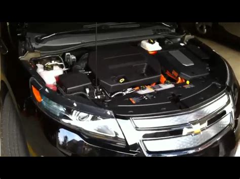 how cars engines work 2011 chevrolet volt parental controls image 2011 chevrolet volt with hood open showing range extender engine and voltec drive size