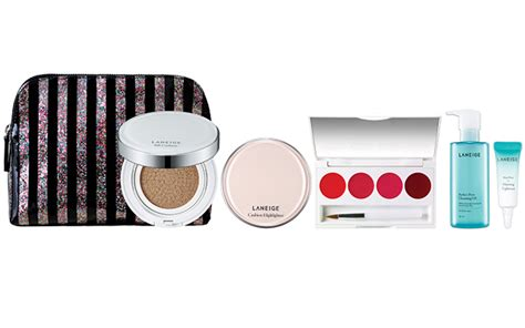 Laneige Pouch Gold bring on the fortune with laneige lucky collection