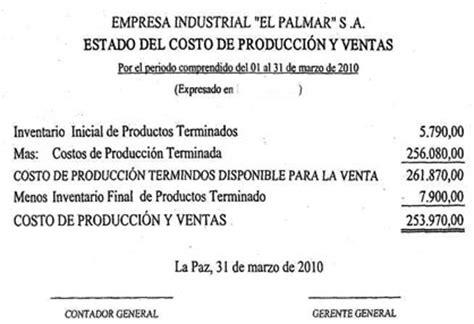el estado y la empresa caso pr 225 ctico costos contabilidad de costos financiera b 225 sica y ejercicios