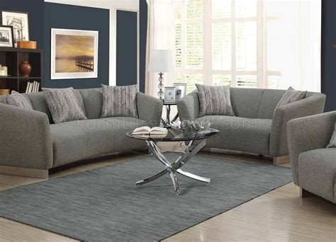 grayson couch grayson sofa in grey woven fabric 506221 by coaster w options