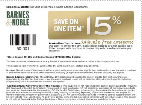 Barnes And Noble Gift Card Discount - barnes and noble coupons october 2014