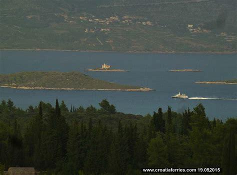 catamaran ferry krilo from dubrovnik to korcula ferry catamaran krilo star on route dubrovnik mljet