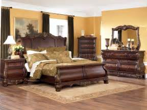 brown bedroom sets warm brown finish 6pc classic bedroom set w optional armoire