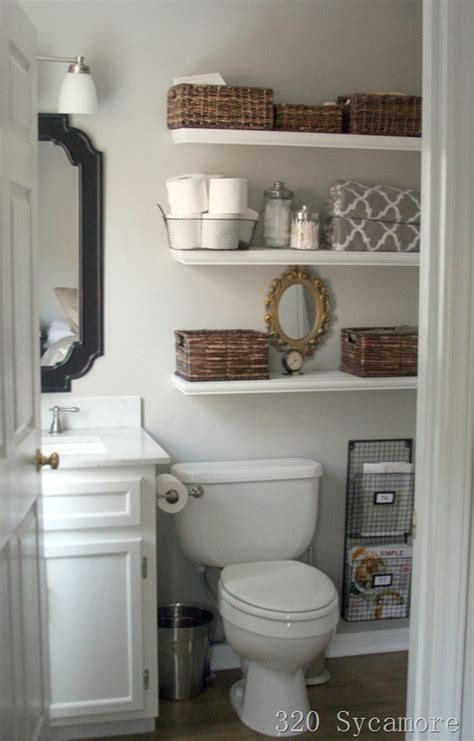 Bathroom Open Shelves Try This Diy Bathroom Renovations Four Generations One Roof