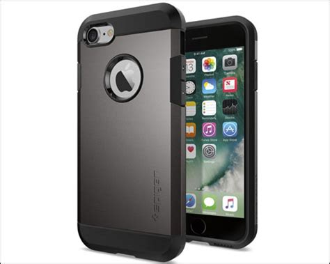 Spigen Tough Armor Apple Iphone 7 Plus Jet Blackblack range of iphone 7 cases from spigen explore the best match