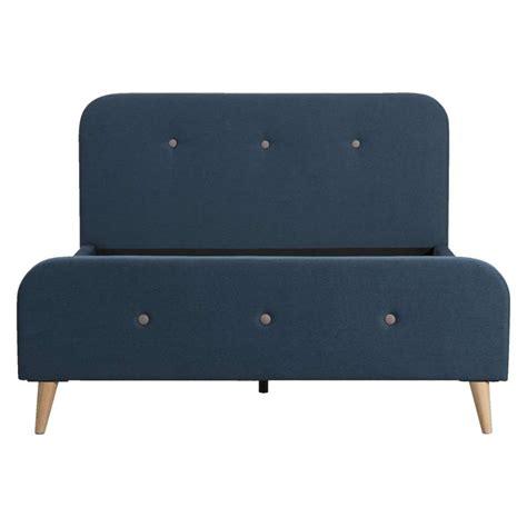 futon helsinki bed helsinki blauw 140x200 cm leen bakker