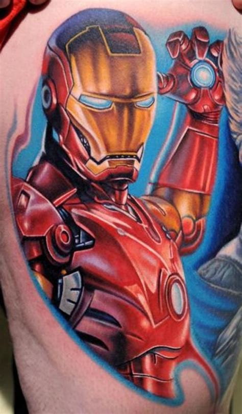 iron man tattoos tattoos agiantmonster