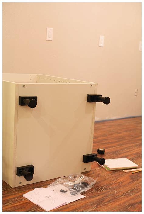 Installing Ikea Base Cabinets by Installing Legs On Ikea Cabinets Free Backupercall