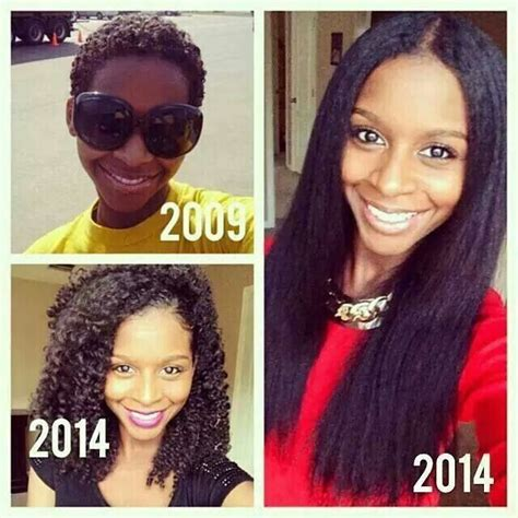 michelle 8 months after the big chop blended beauty 5 years growth from the big chop au naturale pinterest