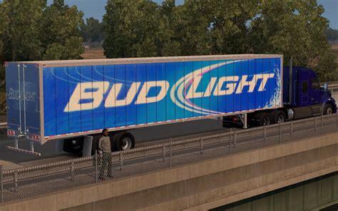 bud light truck driver salary bud light trailer skin mod american truck simulator mod