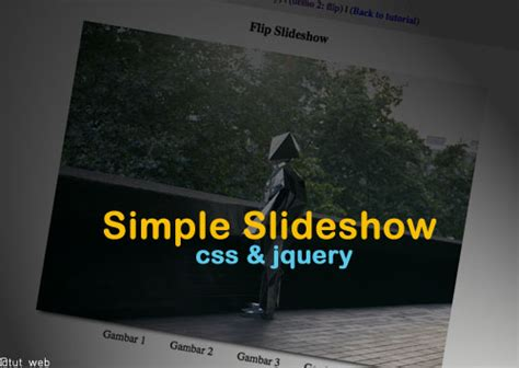 membuat layout web dengan jquery cara membuat slideshow tutorial web design