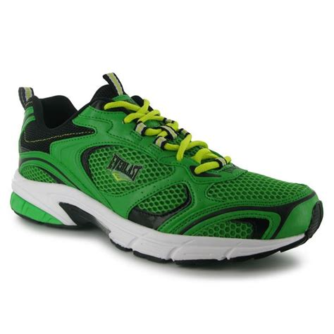 everlast running shoes everlast mens jog ii lace up running sports shoes trainers