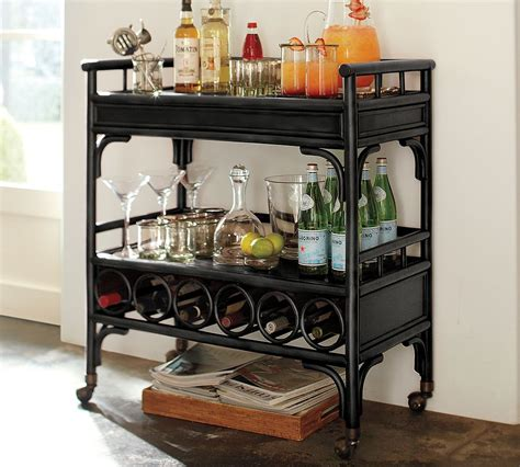 Bar Cart Pottery Barn haymarket designs friday find chinoiserie bar at pottery barn