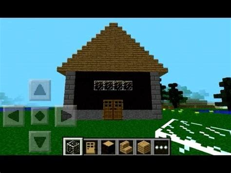 how to build a house in minecraft pe how to make a simple house in minecraft pe step by step youtube