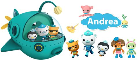 octonauts wall stickers personalised octonauts wall stickers totally movable
