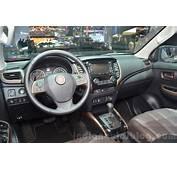 Fiat Fullback Dashboard At 2016 Geneva Motor Show  Indian