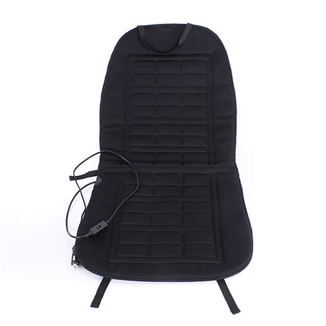 heated seat pad for car 12v car front seat heater heated pad cushion winter