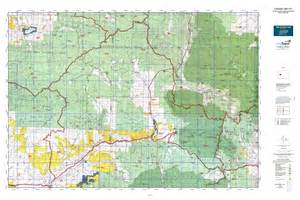 colorado unit map colorado gmu 521 map mytopo