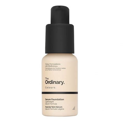 Serum The deciem the ordinary serum foundation reviews photos