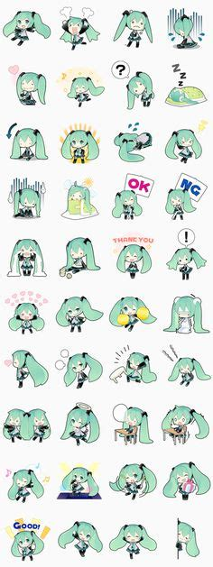 theme changer line miku still theme of anime this time featuring a design