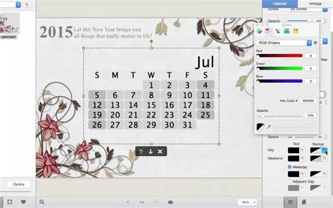 make a calendar on mac how to make a customized photo calendar on mac