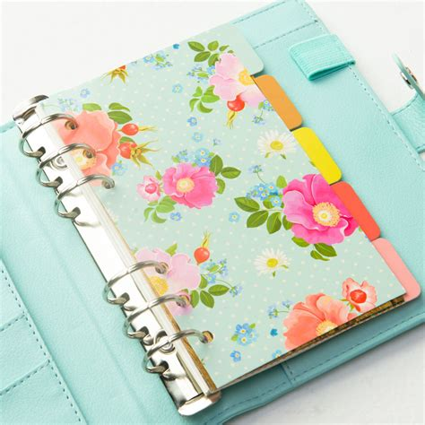 pattern notebook candy color homemade inner core of notebook flower pattern