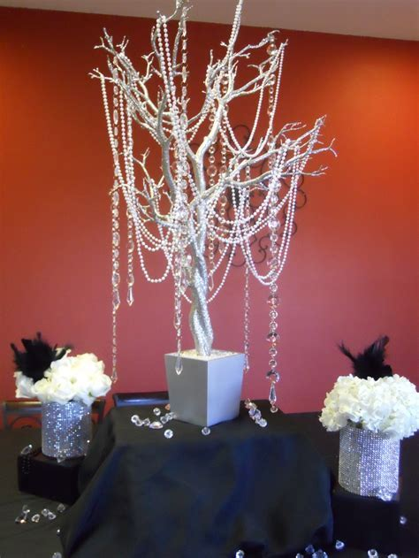 diamonds and pearls centerpieces   Diamonds and Pearls