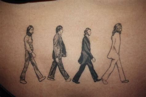 the beatles tattoos 20 awesome album cover inspired tattoos flavorwire