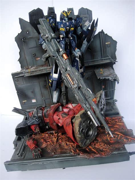 Diorama Gundam Gunpla gunpla diorama mg zeta gundam no match ver dc23 photoreview no 21 big size images gunjap