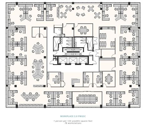 The Office Floor Plan open workplace 2 0 at the macdonald building ottawa