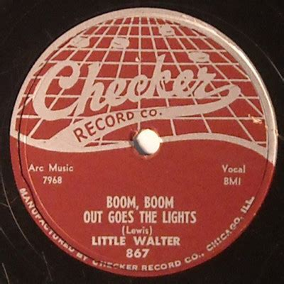 Boom Boom Out Go The Lights by Popsike Walter Checker 78 867 Boom Boom Out
