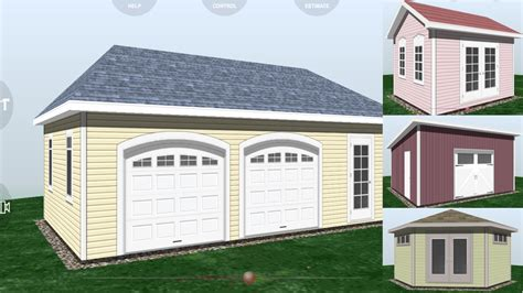garage layout app udesignit 3d garage shed android apps on google play