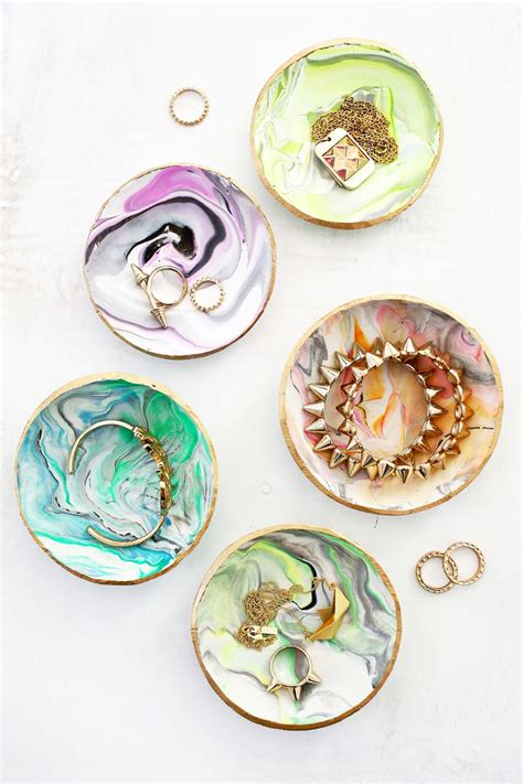 Model Home Interior Decorating by Marbled Clay Ring Dish A Beautiful Mess
