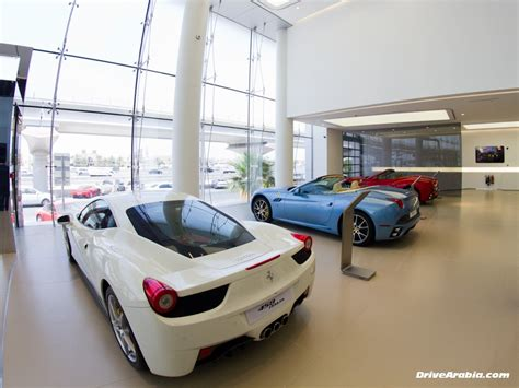 Price Of Ferrari In Dubai by Al Tayer Motors Ferrari Maserati Showroom In Dubai Drive