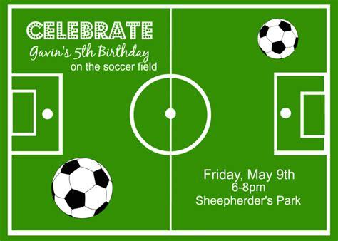printable soccer invitation templates soccer theme party ideas around my family table