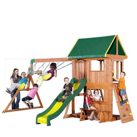 playsets without swings 25 best ideas about wooden swing sets on pinterest