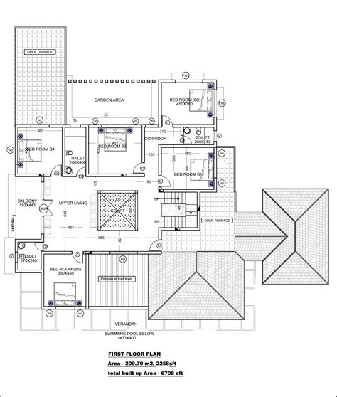free house plans with dimensions very modern beautiful kerala house with plans plan