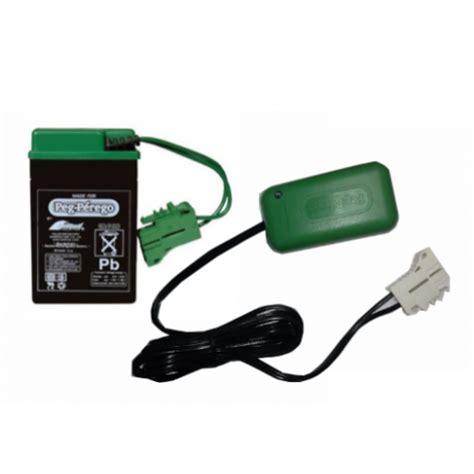 peg perego 6v battery and 6v charger iakb0509 mecb0037