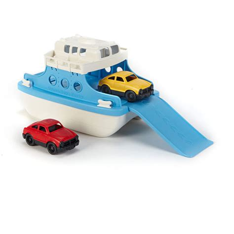 ferry boat with mini cars green toys ferry boat with mini cars the learning tree