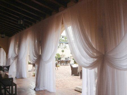 sheer drapes for wedding 49 best images about hall draping on pinterest