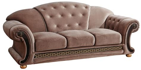 Sofa Versace versace beige sofa versace esf furniture fabric sofas at comfyco furniture store