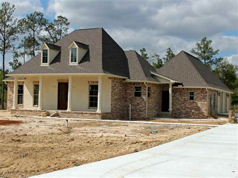 Ranch Style Home Plans With 3 Car Garage #15: French-Acadian-Style-House-Plans-Idea.jpg