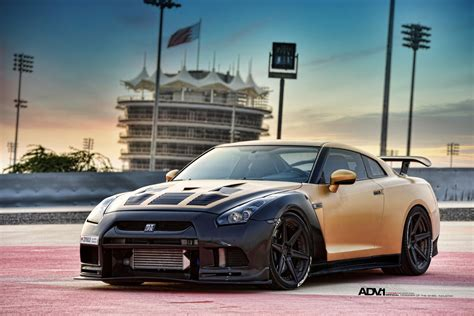 custom nissan skyline r35 gold carbon nissan gtr r35 by ams performance