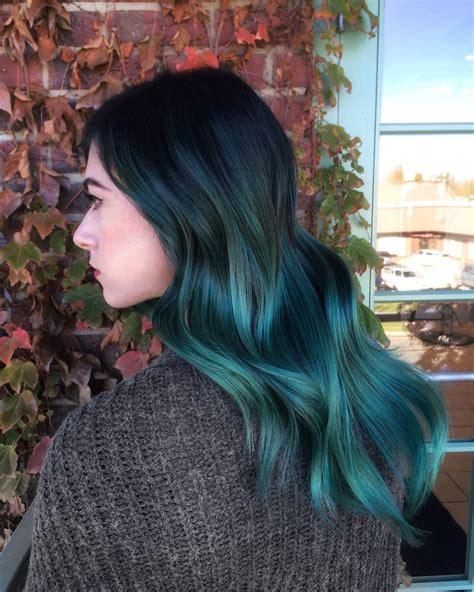 emerald hair color my new hair i m an emerald princess these days hair