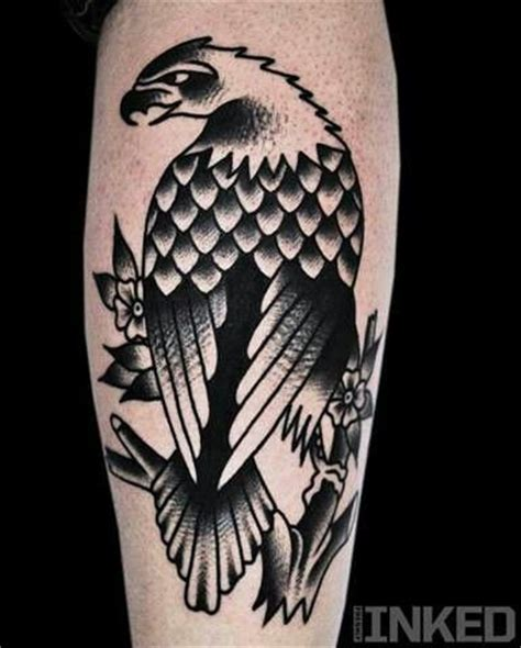 white eagle tattoo luton traditional eagle tattoo i like that it s black and white