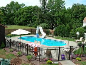pool fence ideas for privacy and safety